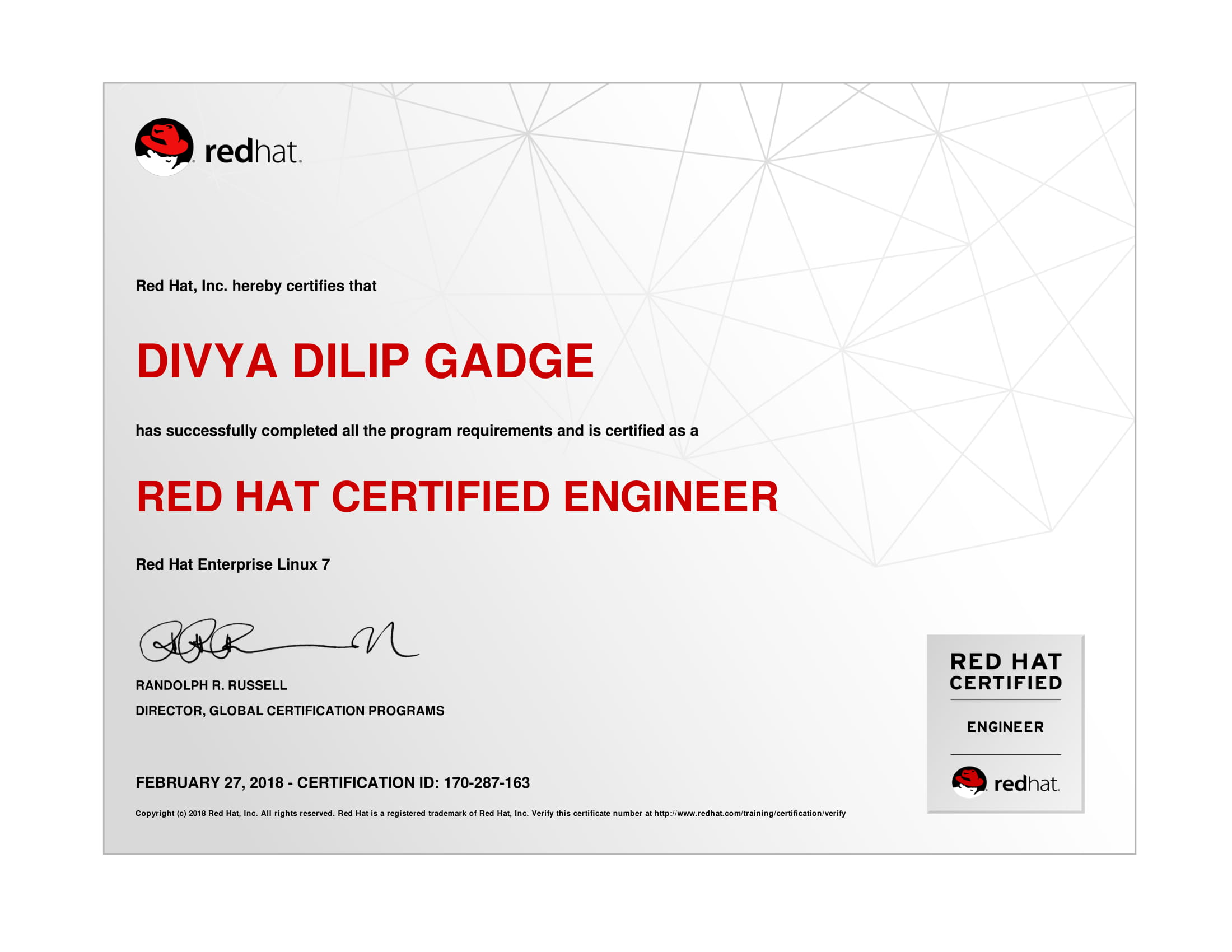 Red Hat Certified Engineer Rhce Training And Certification